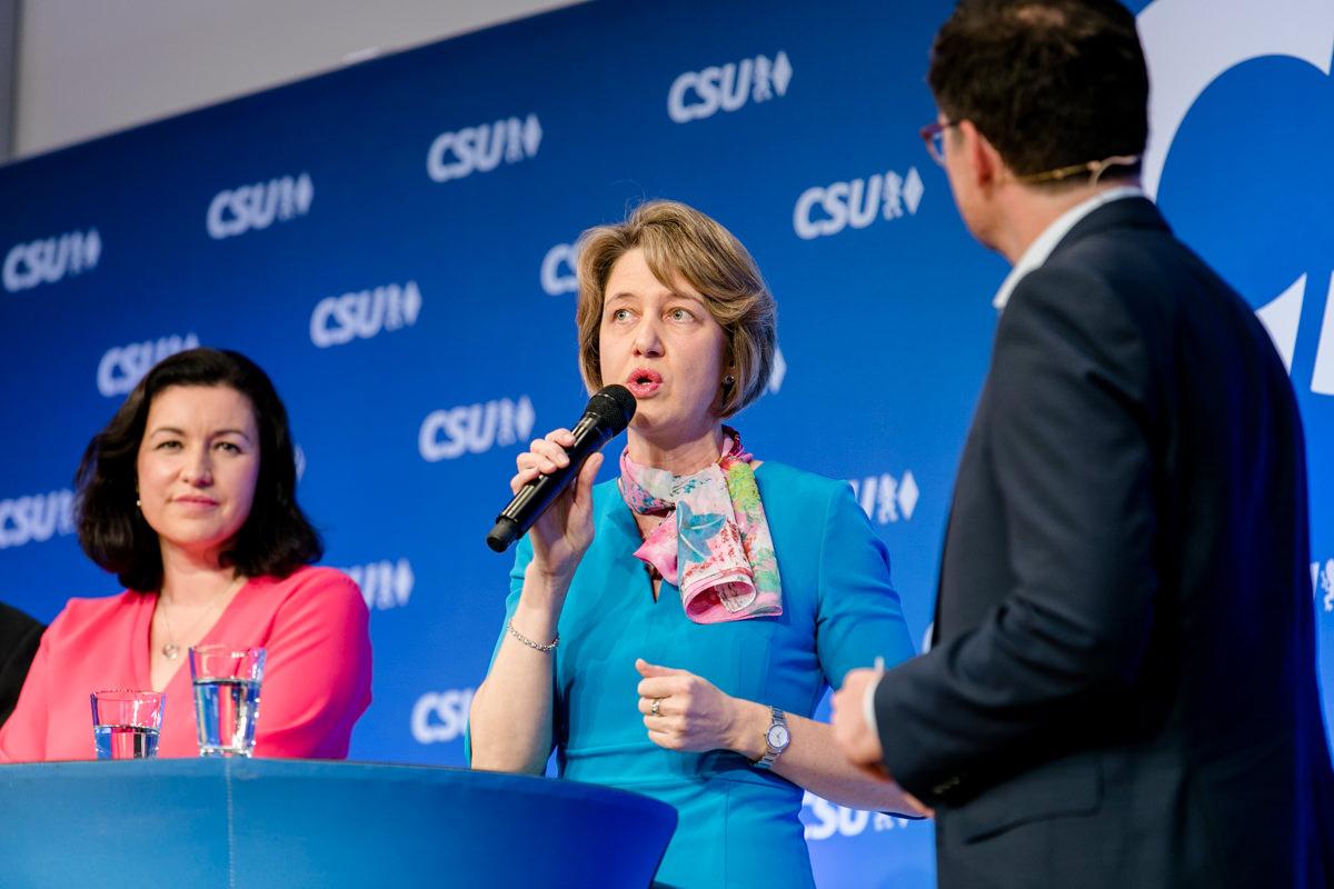 CSU, Wahlkampf, Bundestagswahl 2017, Karl-Theodor zu Guttenberg, Schweinfurt, Konferenzzentrum Maininsel