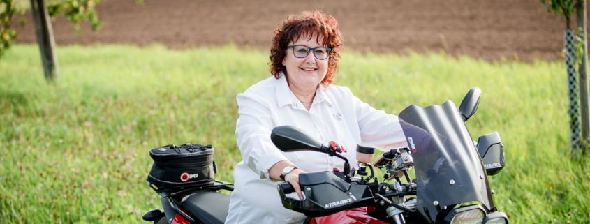 Motorradshooting, Bikershooting, Portrait mit Motorrad, Fotograf Schweinfurt